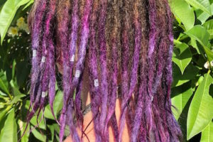 Colour dreadlocks Sydney after