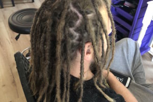 Shoulder length dreadlocks maintenance Sydney after