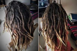 dreadlocks maintenance dreads before after