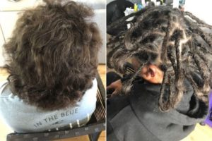 Dread installation Sydney before after