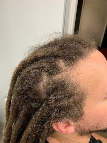 Dreadlocks maintenance long hair