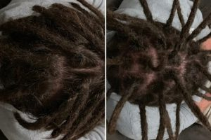 Half Dreadlocks maintenance