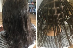 Dread creation long hair Sydney