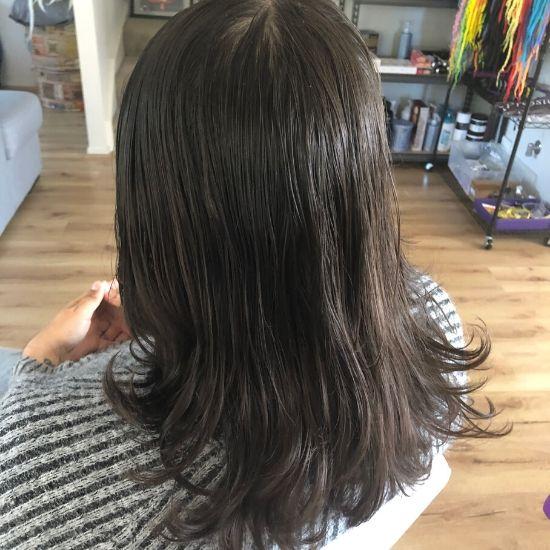 Dread creation long hair Sydney before
