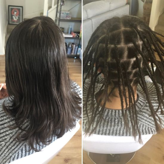 Dread creation long hair Sydney