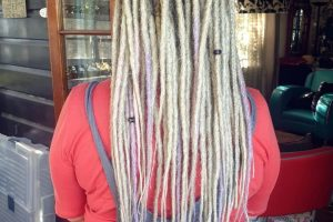 Full Head dread extensions Sydney after