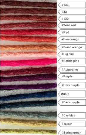 dreadlock extensions color chart vibrant