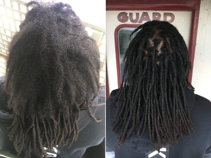 Dreadlocks reconstruction Sydney