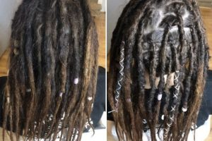 Dread maintenance long hair